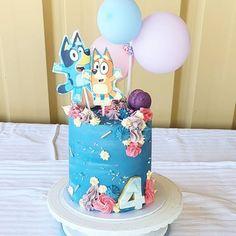 Images about #blueycake on Instagram Third Birthday, Birthday Cake, Baking Ideas, Matilda, Ideas Para, Party Ideas, Cakes, Tv, Kids