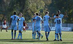 Roma U19 0-4 Manchester City U19: Gunn in fine form #DailyMail