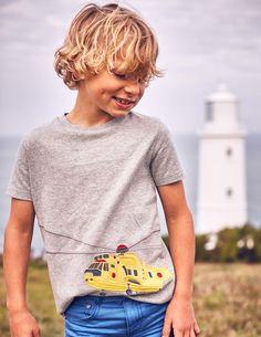 Big Appliqué T-Shirt by Mini Boden