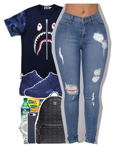"""""""4/21"""" by uniquee-beauty ❤ liked on Polyvore featuring NIKE, Michael Kors and MCM"""