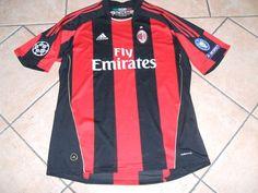 Favolosa Maglia Milan IBRAHIMOVIC 11 Champions League