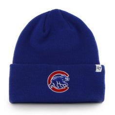 Chicago Cubs Royal 'Alternate' Logo Cuff Knit Cap by '47 Brand | Sports World Chicago $19.95