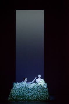 Odyssey. National Theatre of Greece. Scenic and lighting concept by Robert Wilson.
