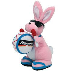 a04b9c30cf9 TY Beanie Baby - ENERGIZER BUNNY the Bunny (Walgreen s Exclusive) (6.5 inch)