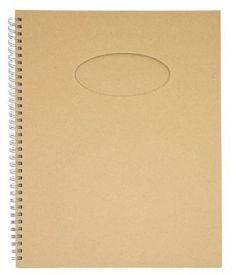 Pappalbum, oval, 30 x 21 cm, 60 Blatt € 4,50