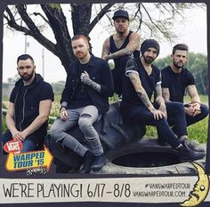 MEMPHIS MAY FIRE PLAYING VANS WARPED TOUR ALL SUMMER LONG!!!