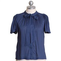 'blue moon' blouse from ruche.