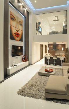 comment aménager son salon avec peintures murales