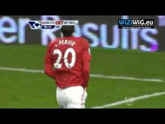Robin Van Persie amazing goal Manchester United vs West Bromwich  29.12.2012