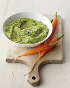 Minty Pea Dip | Whole Living