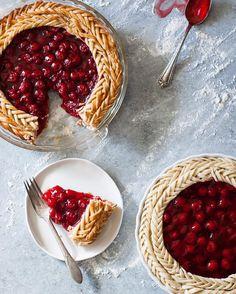 Cherry pie gallette style