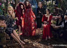 Dolce & Gabbana Fall/Winter 2014-2015 Campaign  #fashion