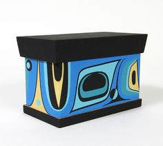 Steve Smith Red and Yellow Cedar Bentwood Chest: Sweetness