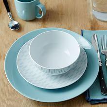 Palette Dinnerware Set - Ikat Light Pool