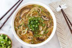 Zucchini Noodle Egg Drop Soup | POPSUGAR Food