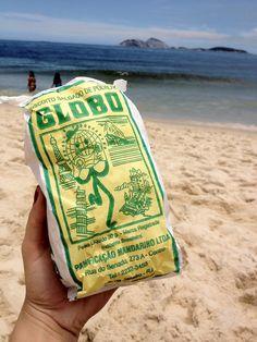 Memória Gráfica Brasileira: Biscoitos Globo - Rio de Janeiro