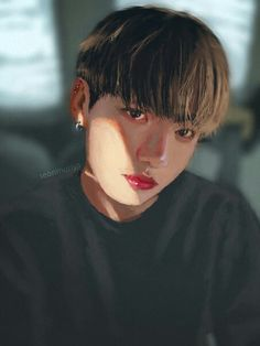 Faded by getyourdragon Jungkook Fanart, Kpop Fanart, Bts Bangtan Boy, Traditional Paintings, Traditional Art, I Am Really Sorry, Bts Drawings, Amazing Drawings, Bts Fans