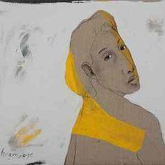 Painting by Bahram Hajou