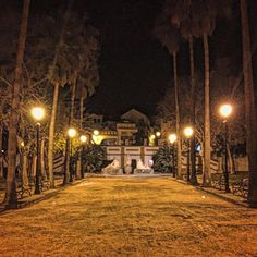 #paseodecervantes de noche en #Montilla