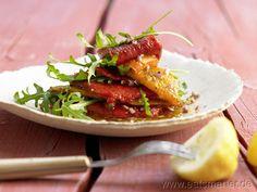 Mediterranes Paprikagemüse mit Rucola - smarter - Kalorien: 72 Kcal | Zeit: 50 min.