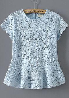 26 Ideas For Dress Brokat Putih Blouse Styles, Blouse Designs, 80s Fashion, Fashion Outfits, Dress Brokat, Designs For Dresses, Lace Peplum, African Fashion Dresses, Trendy Dresses