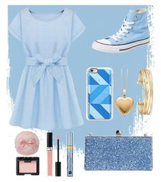 """""""Melting ice"""" by pheobie-tonkin-rocks ❤ liked on Polyvore featuring Converse, Casetify, Stella & Dot, Jimmy Choo, Estée Lauder, Christian Dior and NARS Cosmetics"""