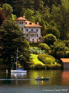 San giulio, Lago d'orta, province of Novara, Piemonte region, Italy