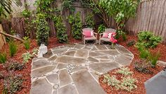 How to pave a patio - crazy paving