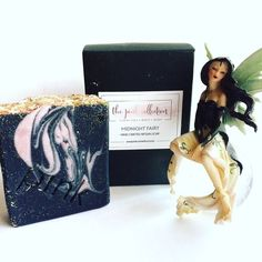 [New] The 10 Best Makeup Ideas Today (with Pictures) - Sending some positive Monday vibes How gorgeous is this Midnight Fairy soap from ? Not only does it smell amazing . it looks sooo pretty too. Beauty Junkie, Makeup Junkie, Seashell Nails, March Book, Avon Care, Brush Cleanser, 10 Year Old Boy, Unicorn Makeup, Handmade Cosmetics