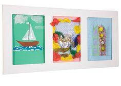 grote kader voor kinderkunst triple A4 Articulate Gallery | kinderen-shop Kleine Zebra