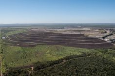 Glencore - We're working hard on progressive rehabilitation at our Clermont open cut coal mine in central Queensland