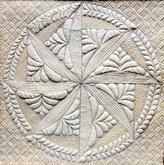 This design is elegant and has a few tones of grey and white. There is a simple and elegant pattern, the outer circle having plaid and the inner circle having multiple designs. some elements are; constrast, pattern, figure ground.