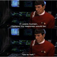Spock. Star Trek original series