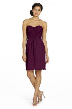 Jim Hjelm 5379s Chiffon Bridesmaid Dress | Weddington Way