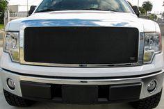Grillcraft F1311-12B Ford F-150 MX Grille Black Upper & Lower Insert (Combo Kit) #Grillcraft #ChromeTrim