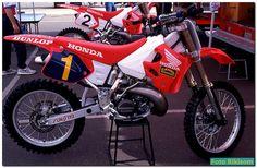 Jean Michele Bayle's 1992 Facotry Honda CR250R by teyblyy, via Flickr