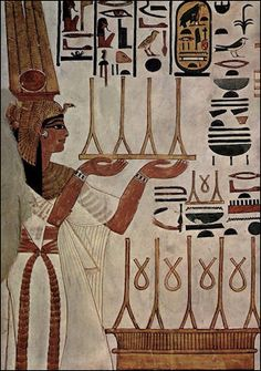 Nefertari tomb painting