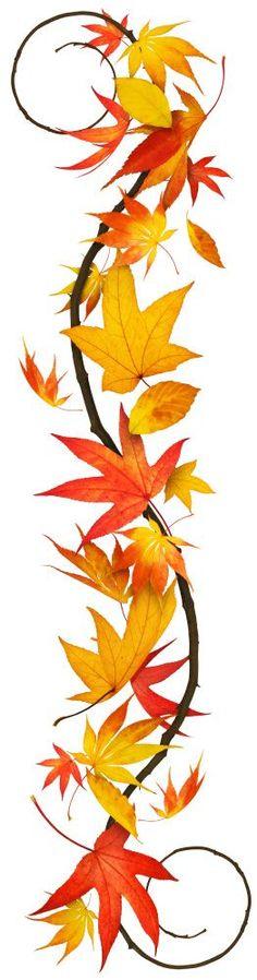 Fall leaves craft idea