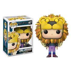 Harry Potter Luna Lovegood Lion Head Pop! Vinyl Figure - Funko - Harry Potter - Pop! Vinyl Figures at Entertainment Earth
