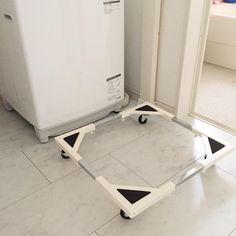 いいね!439件、コメント1件 ― TNKさん(@tnk.02)のInstagramアカウント: 「洗濯機の置き台を購入しました。 楽天roomに載せてます。 . キャスターで移動ができるから、 落し物も取りやすく、 お掃除もしやすいので、 今度は埃をためないよう 気をつけたいと思います! .…」