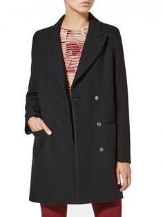 Coat with lapels