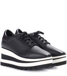 STELLA MCCARTNEY Sneak-Elyse platform sneakers. #stellamccartney #shoes #