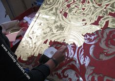 Elaborate gilding on a grand scale