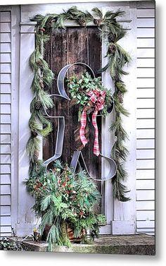 Christmas Porch, Christmas Gingerbread, Noel Christmas, Outdoor Christmas Decorations, Christmas Projects, All Things Christmas, Winter Christmas, Christmas Wreaths, Christmas Greetings
