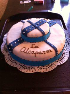 Sailor style fondant cake