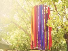 This looks like the ribbon tower from the park at Glastonbury... I have to make it!!!