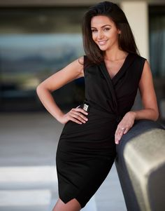 Lipsy Love Michelle Keegan Wrap Buckle Dress