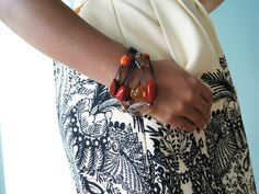 Necklace Worn as a Bracelet