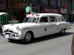 Vintage Toronto Ambulance (1954 Packard) by Canadian Pacific, via Flickr