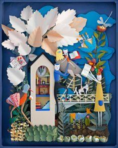 Papercutting Gallery via art is a way by Elsa Mora